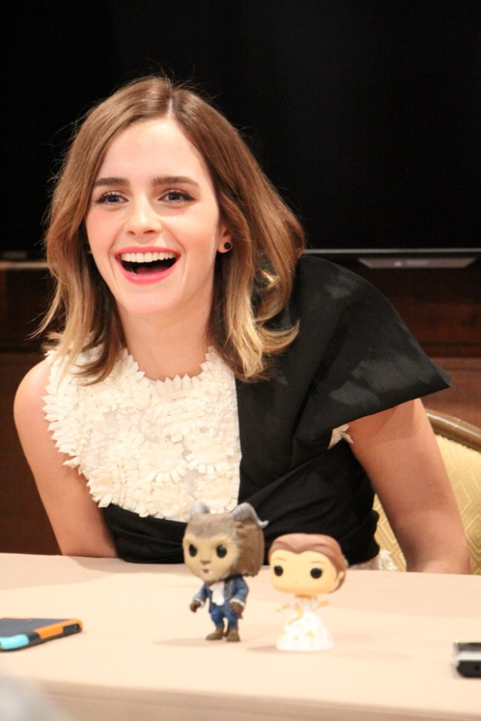 Interview with Emma Watson and Dan Stevens & Beauty and Beast Premiere Outfit DIY