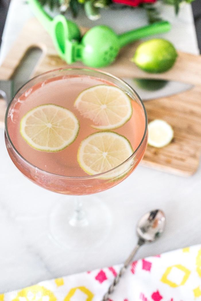 Margarita Wine Spritzer Recipe for Cinco de Mayo Pool Party