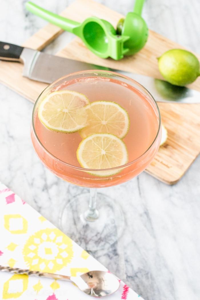 Margarita Wine Spritzer Cocktails Recipe