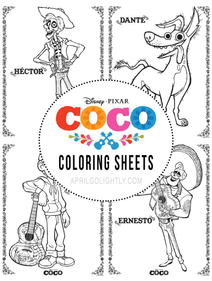 Disney Pixar COCO Printables