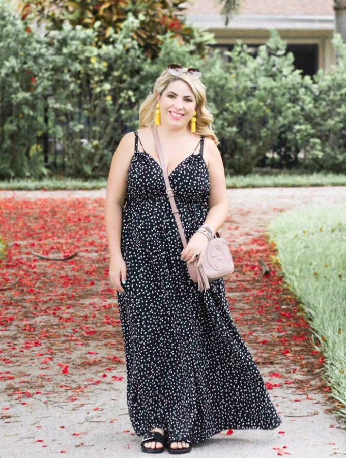 Polka Dot Jumpsuit Outfit