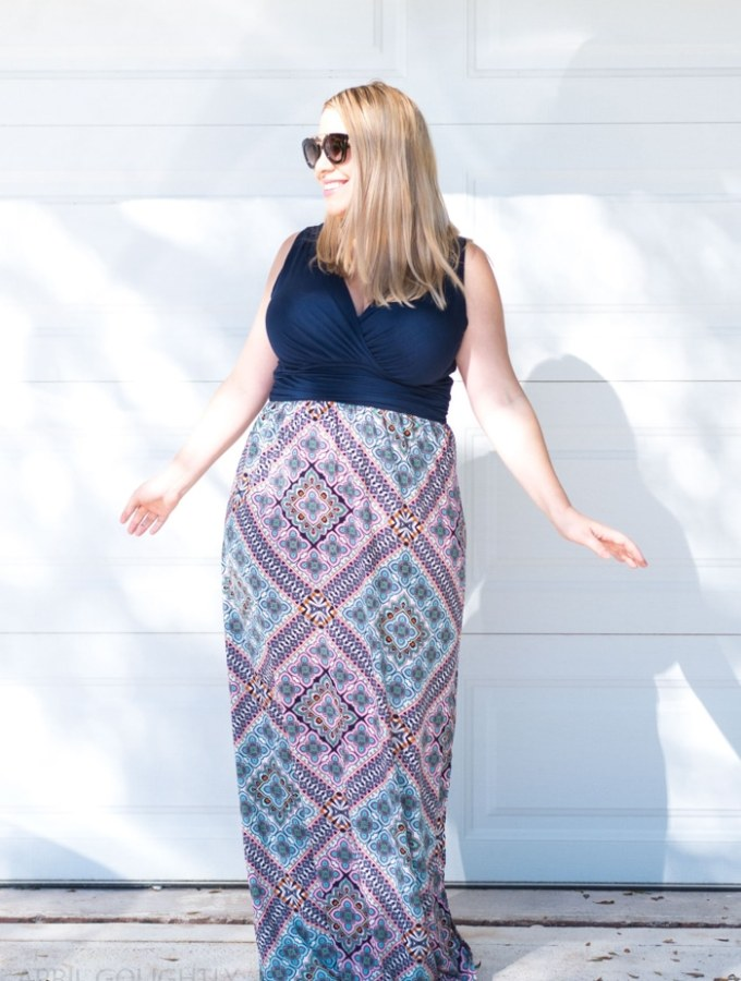 How to Wear a Maxi dress if you are short from Boca Raton Fashion Blogger April Golightly