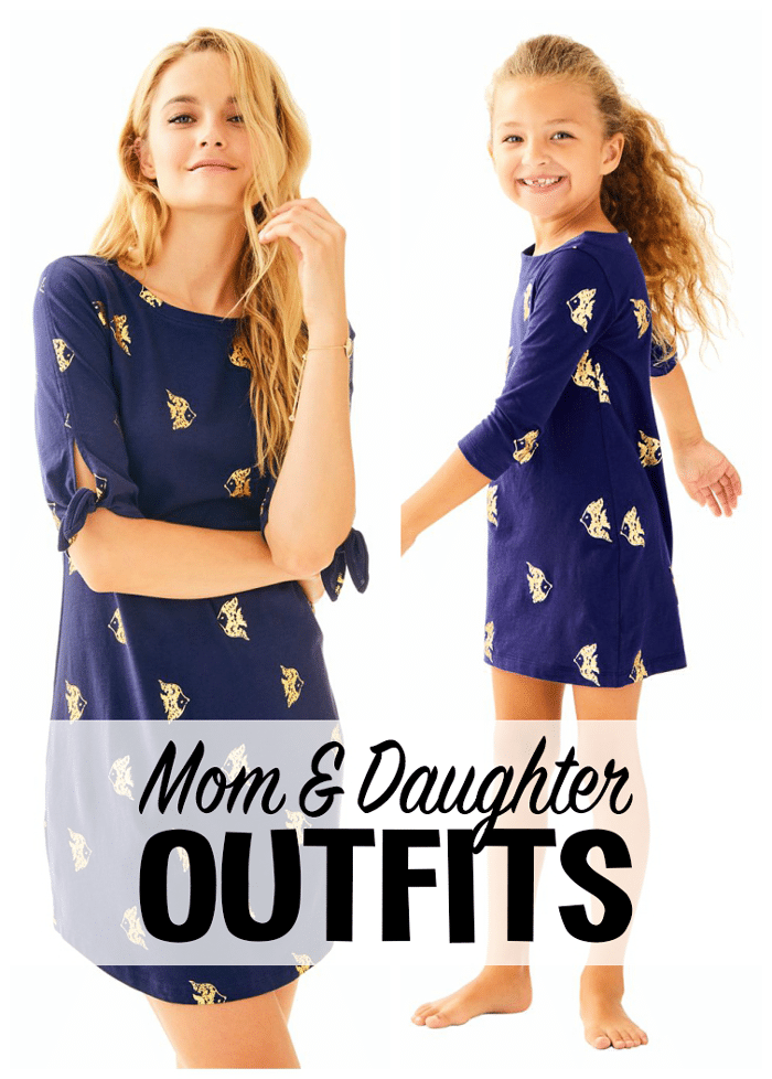 Lilly Pulitzer Mom and Daughter Matching Outfits