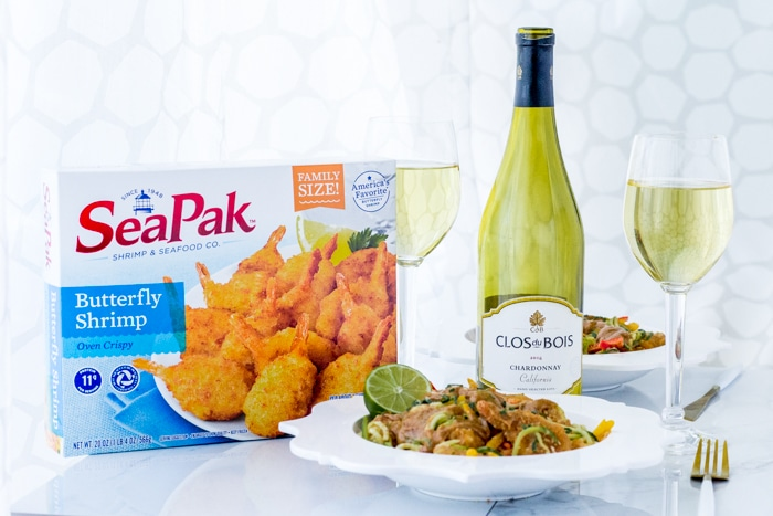 Wine Pairing with Shrimp