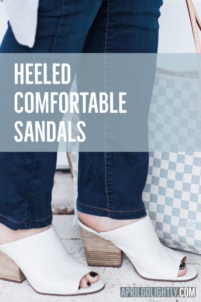 Heeled Comfortable Sandals