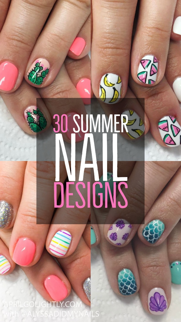 30 Nails Designs for Summer