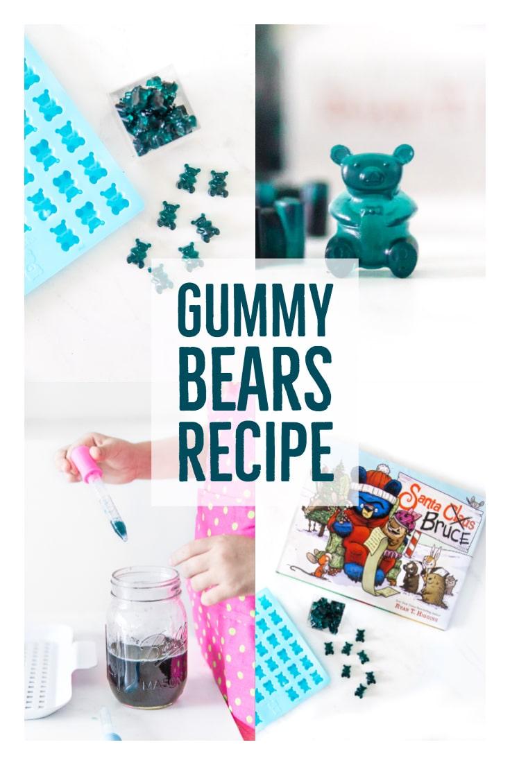 Santa Bruce Gummy Bears Recipe