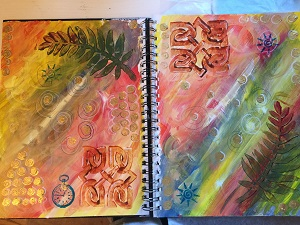 Book of Days in Progress 1