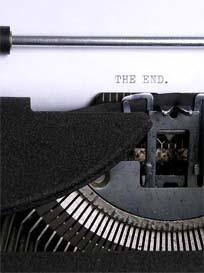 typewriter_the-end