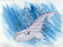 whale mandala