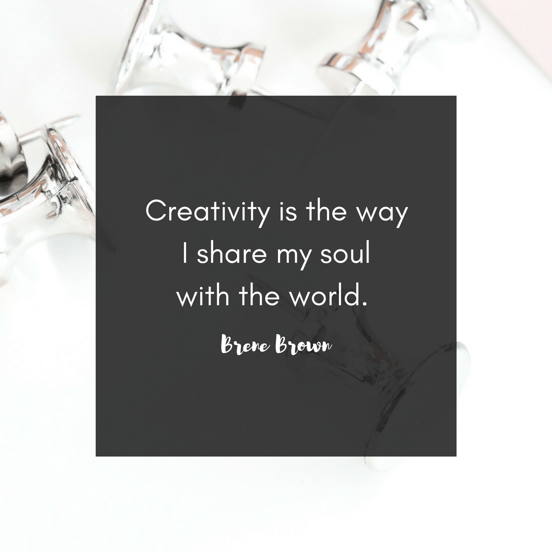 creativity is how I show my soul