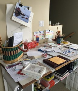 organizing the creative space