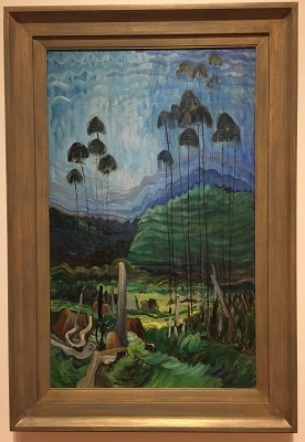 Emily Carr, Trees in the Sky