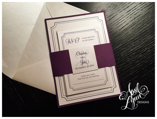 A 7 Pocket Invitation Cards