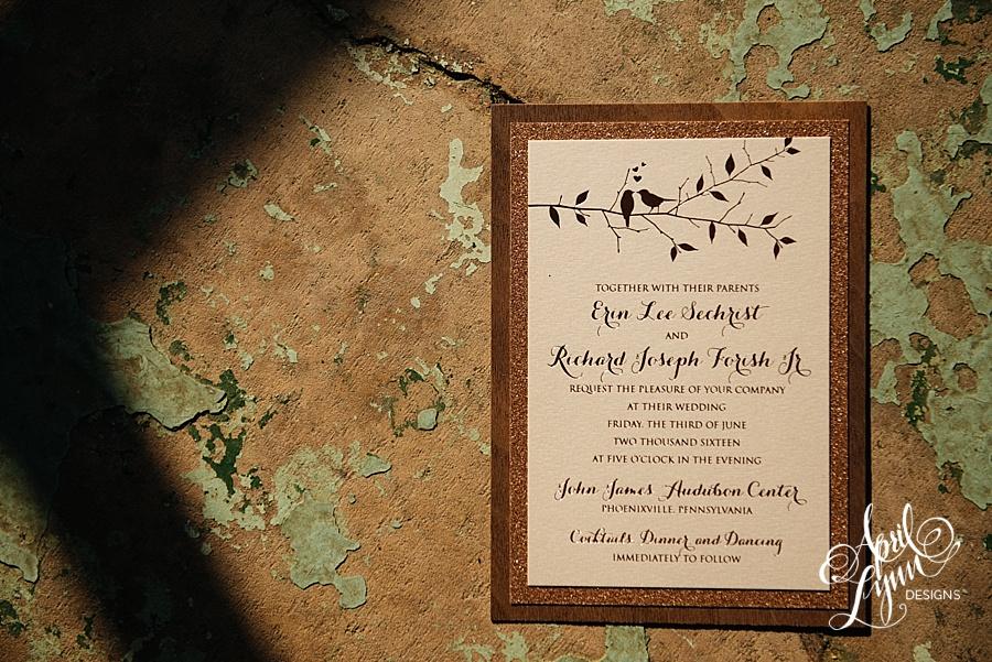 Rustic Wedding Response Cards
