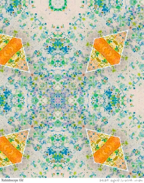 Kaleidoscope 13 Detail Print