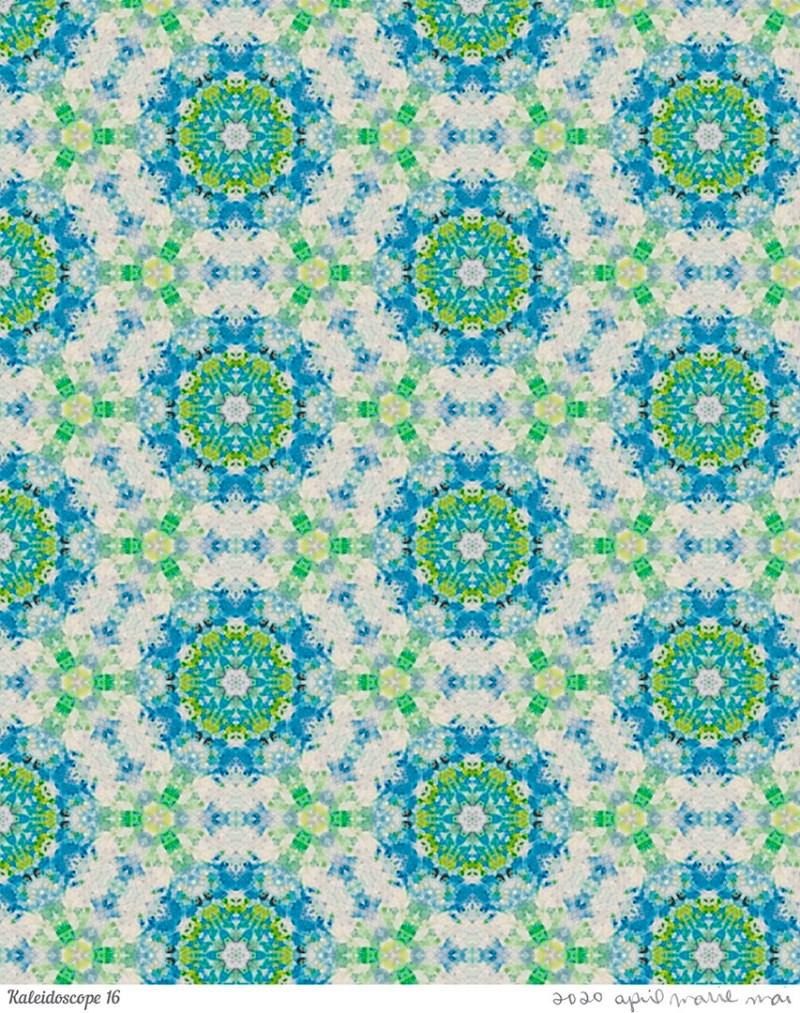 Kaleidoscope 16 Print