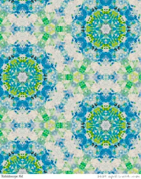 Kaleidoscope 16 Detail Print