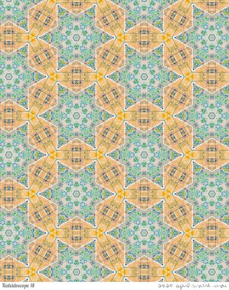 Kaleidoscope 18 Print