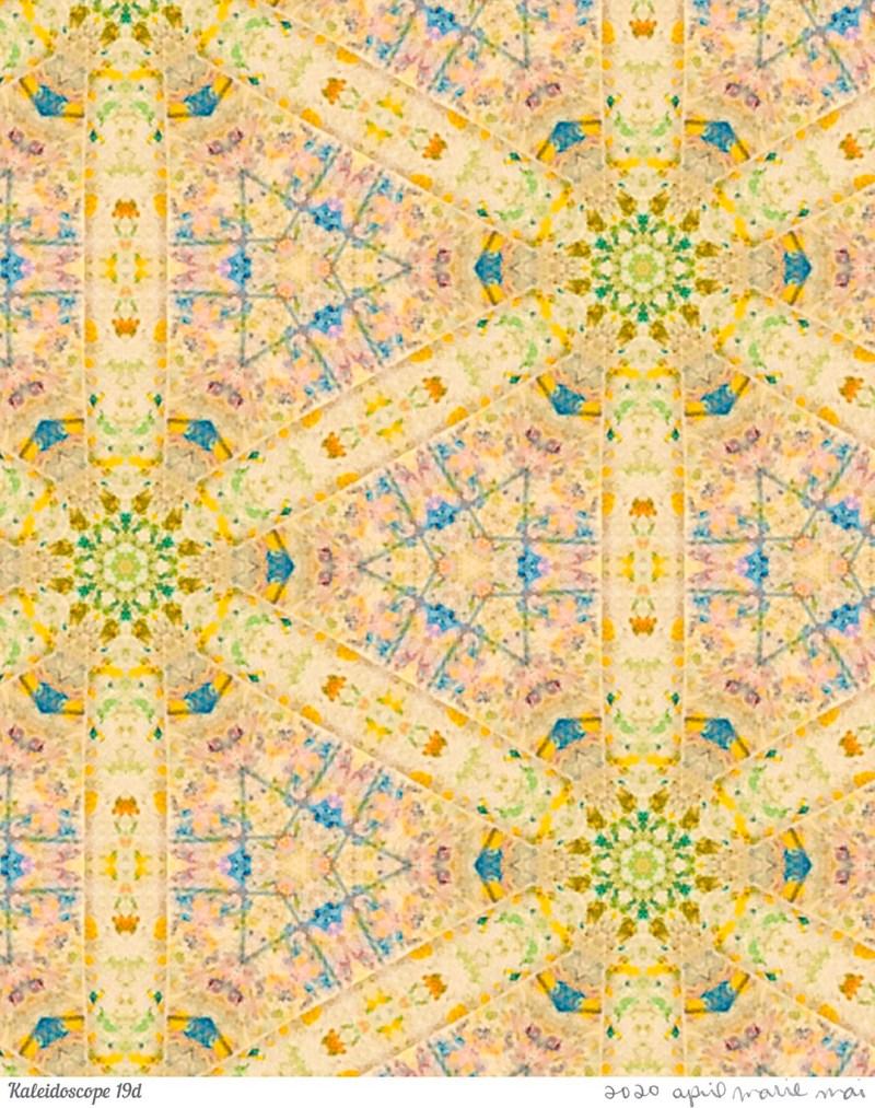 Kaleidoscope 19 Detail Print