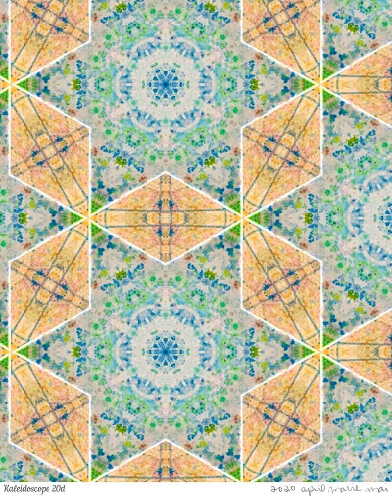Kaleidoscope 20 Detail Print