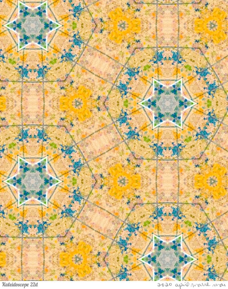Kaleidoscope 22 Detail Print