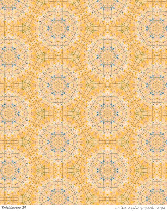 Kaleidoscope 24 Print