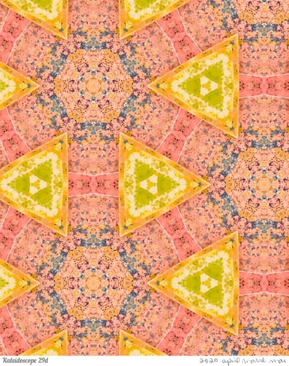 Kaleidoscope 29 Detail Print