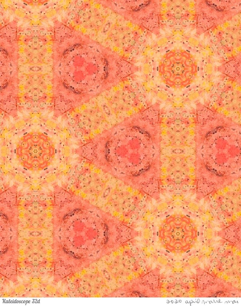 Kaleidoscope 32 Detail Print