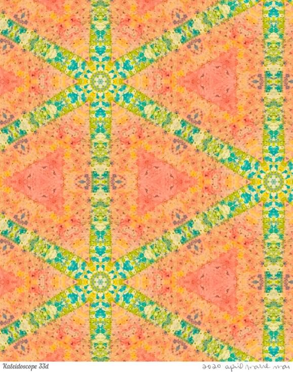 Kaleidoscope 33 Detail Print