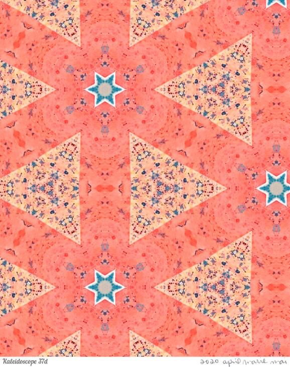 Kaleidoscope 37 Detail Print