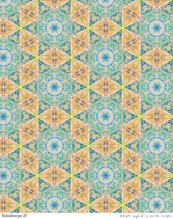 Kaleidoscope 20 Print