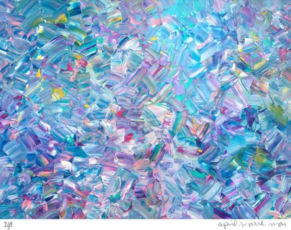 Lift Painting Art Print