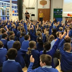 School Assemblies with April Shipton - Christian singer and songwriter inspiring kids and adults to use their talents and passions
