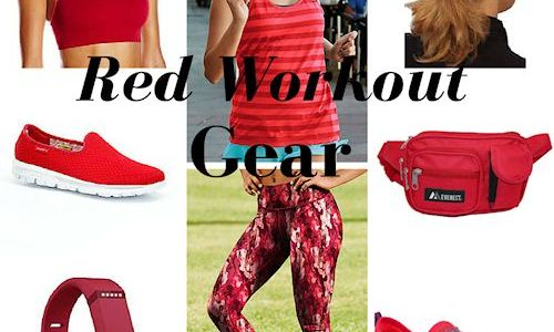 Red Workout Gear