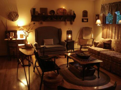 A Primitive Place Primitive Amp Colonial Inpired Living Rooms