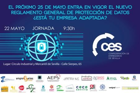Jornada: Nuevo Reglamento General de Protección de Datos