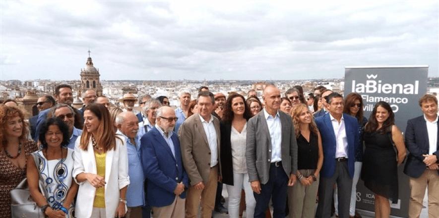 La Bienal enciende Sevilla