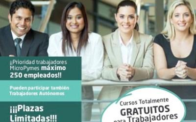 Cursos on-line para trabajadores y autónomos