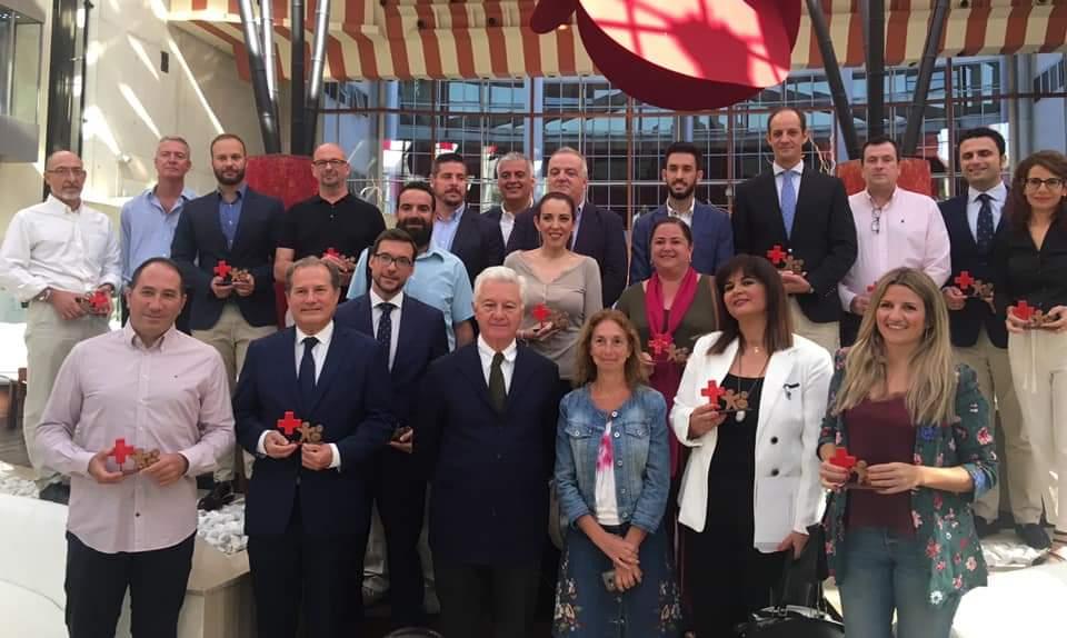 Los comercios de Aprocom reciben el reconocimiento a empresas 2019 por parte de Cruz Roja