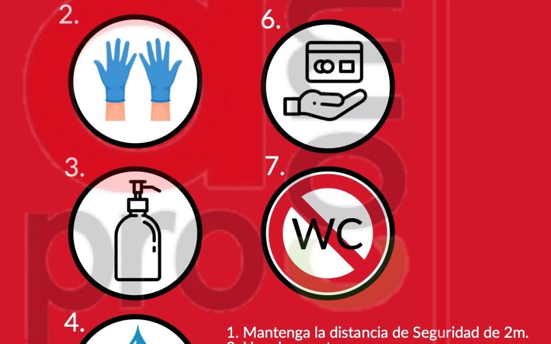 Aprocom pone a disposición de sus establecimientos asociados los protocolos de medidas de higiene adoptadas