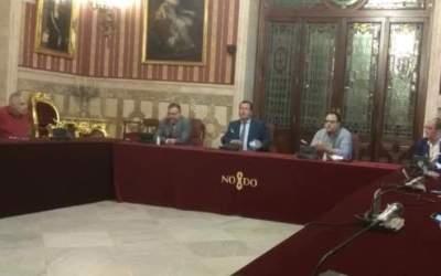 El Presidente de Aprocom, como Presidente de la Comisión de Movilidad de CES, asiste a la reunión con el Delegado del Ayuntamiento