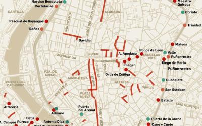 Restricciones al tráfico en el centro de Sevilla y Triana incluidas en el Plan Respira