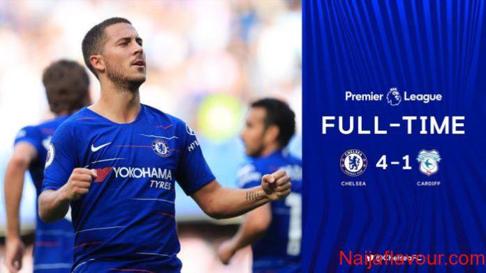 Chelsea vs Cardiff City 4-1 – Highlights