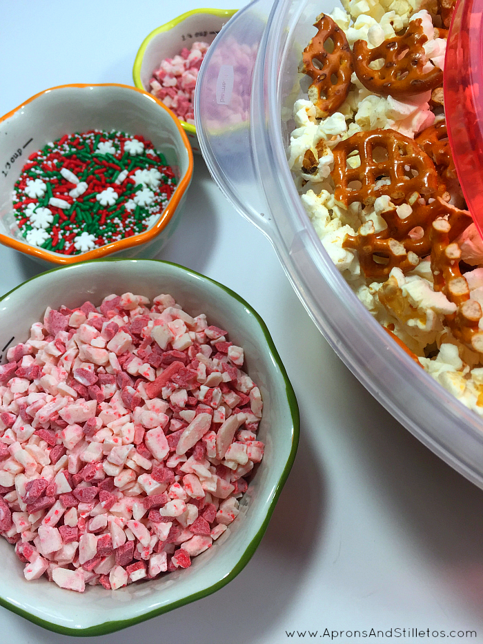 Christmas Party Popcorn Recipe
