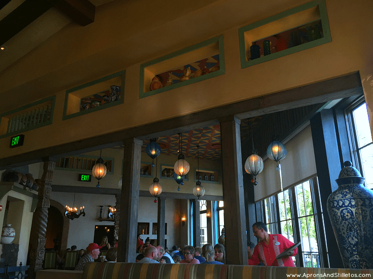 La Hacienda de San Angel Restaurant in Epcot's World Showcase