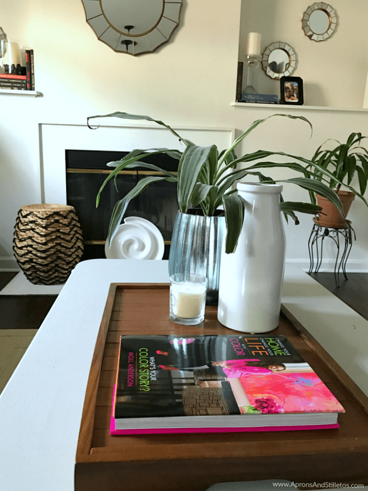 Pops of Color Mini Home Tour + Moll Anderson's book, Change Your Home, Change Your Life with Color: What's Your Color Story?