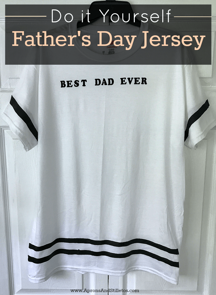 DIY Father's Day Jersey