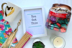 """DIY """"You Got This"""" College Survival Kit"""