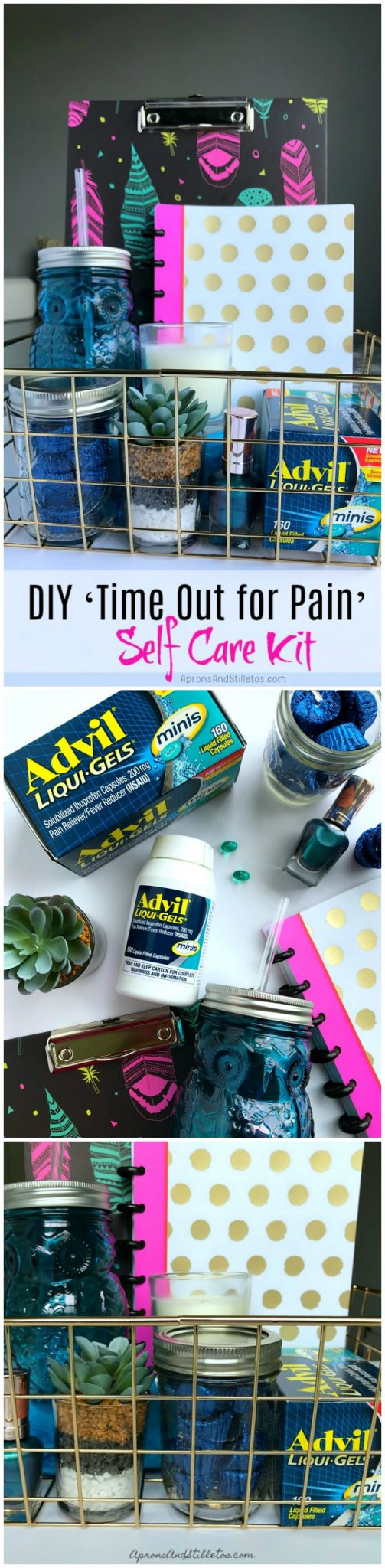 DIY Time Out for Pain Self Care Kit